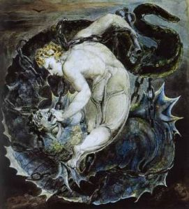 michael-binds-satan-william-blake