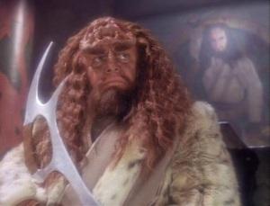The Klingon Jesus. I'm serious.