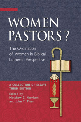 """Didaskolos"" by Bertil Gärtner, Part 2, in ""Women Pastors?"" edited by Matthew C. Harrison and John T. Pless"